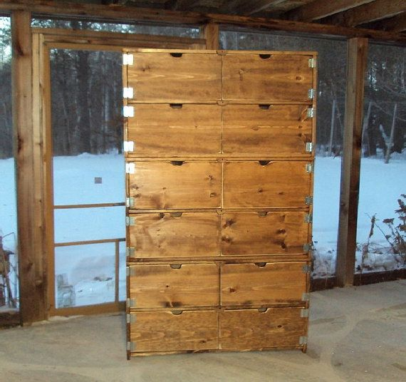 Custom Order For Valerie Marquis Wood Dresser 6 Ft Tall X 3 Wide