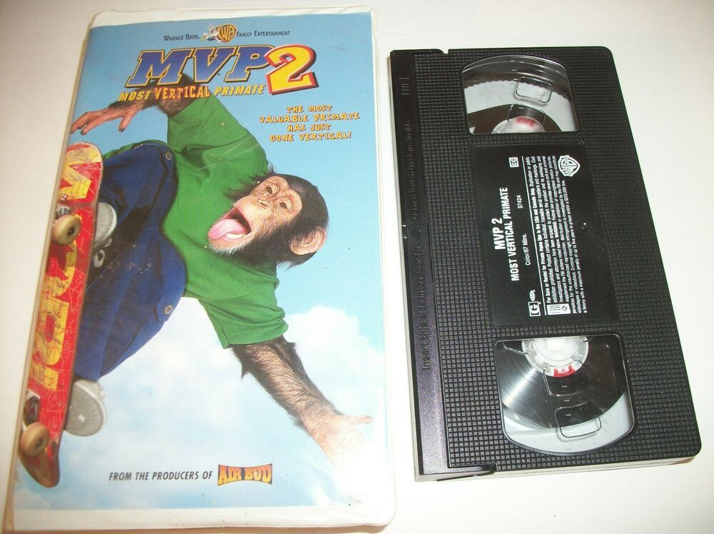 MVP 2 - Most Vertical Primate (VHS, 2002, Clamshell