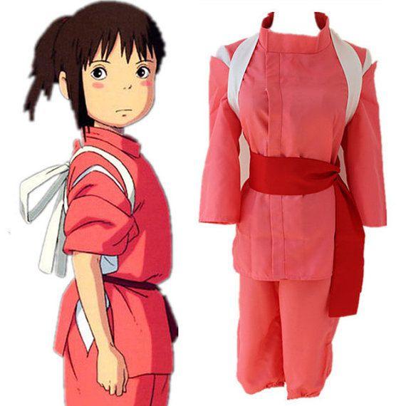 Spirited Away Miyazaki Hayao Chihiro Ogino Sen Haku Cosplay Costume Kids Custom In Clothing From Novelty Cosplay Outfits Japanese Outfits Spirited Away Cosplay