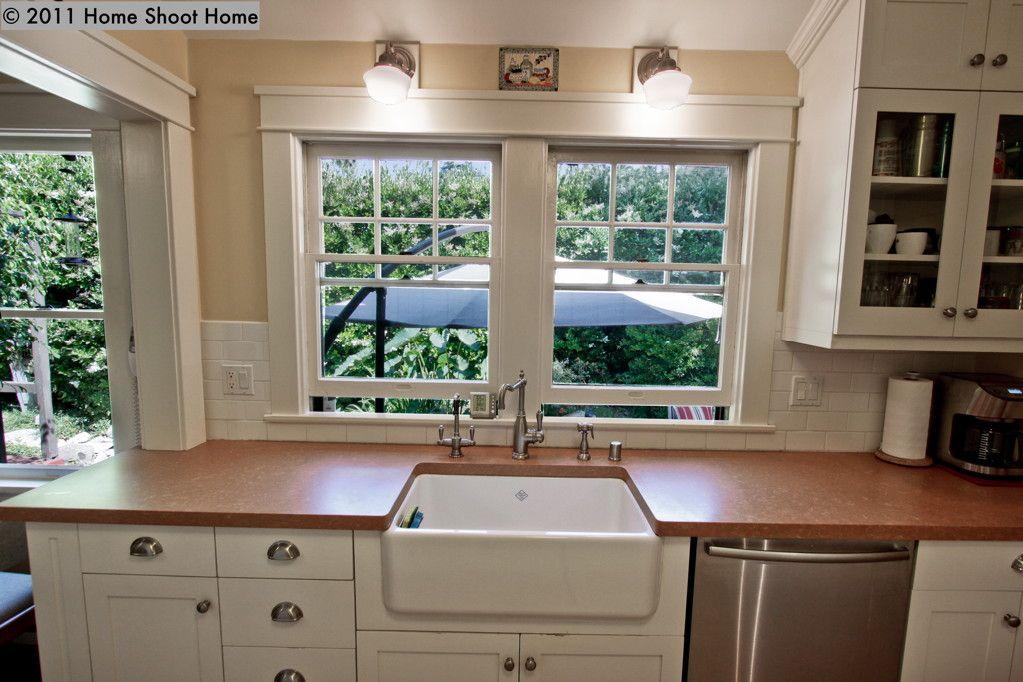 1915 Kitchen Craftsman Kitchen Kitchen Design Home
