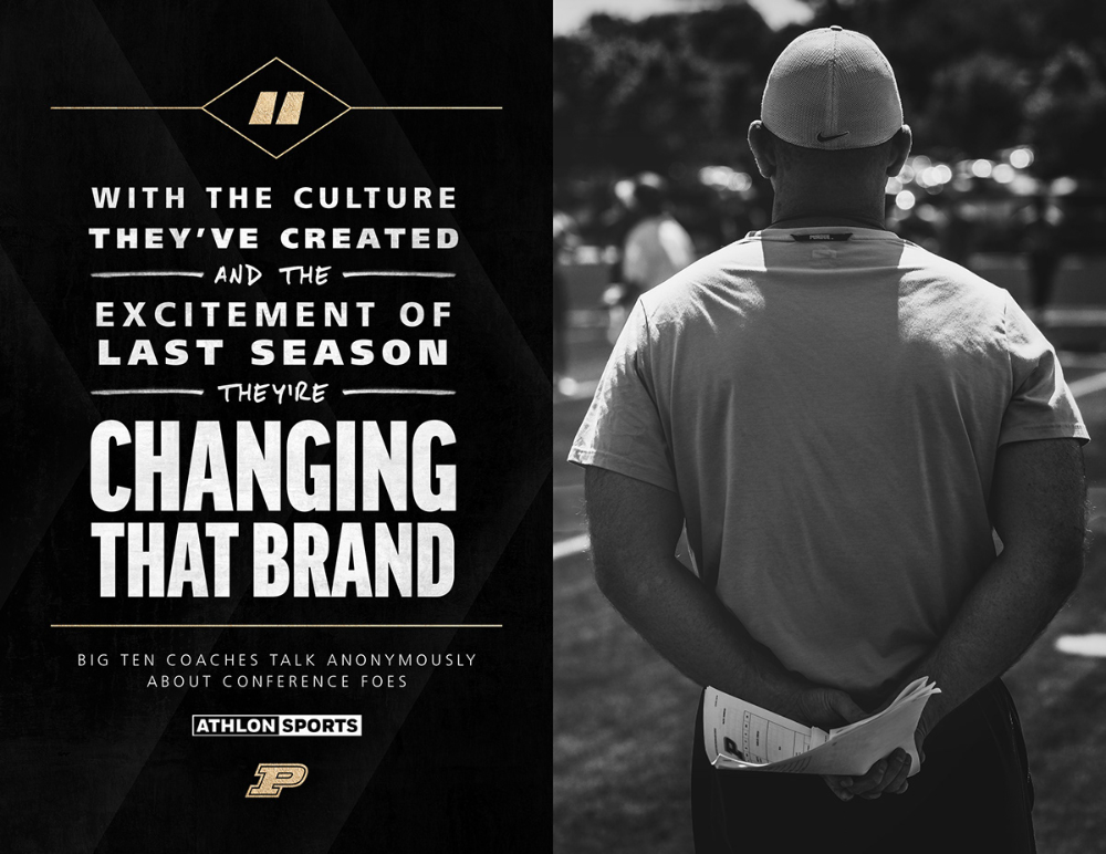 2019 Purdue Football Social Media On Behance In 2020 Social Media Sports Quotes Purdue