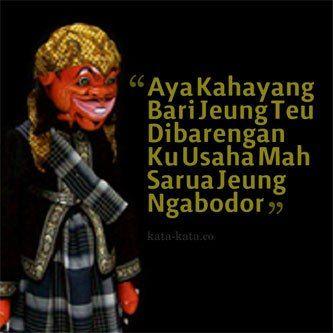 Kata Mutiara Bahasa Sunda Dan Artinya Bahasa Kata Kata