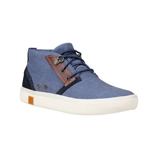Discount Timberland Amherst Chukka Blue Ankle Boots for Women Online