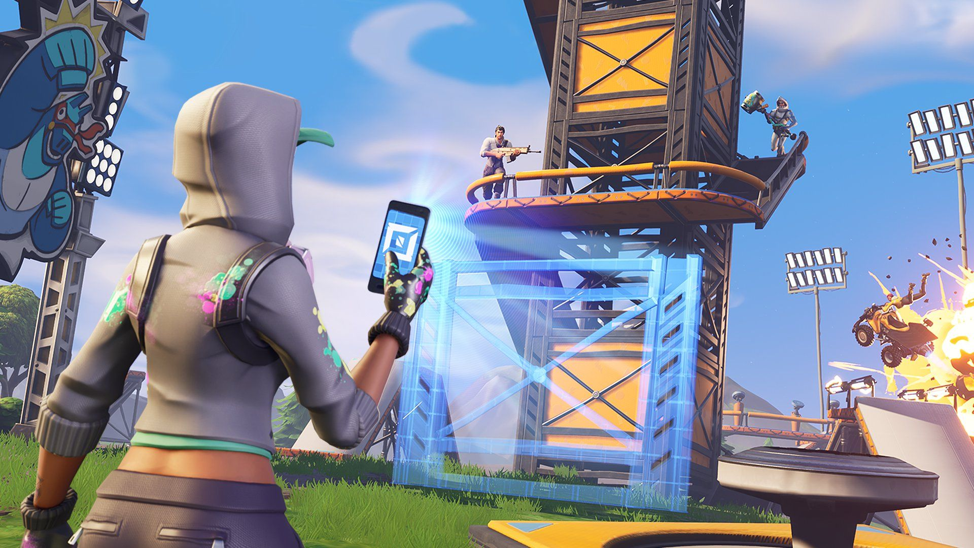 Make Your Own Fortnite Island With Fortnite Creative Fortnite Epic Games Epic