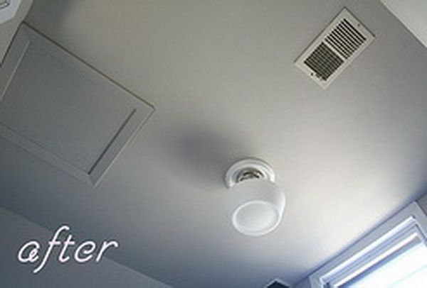 How To Remove Popcorn Texture From A Ceiling That Has Been Painted Step By  Step DIY