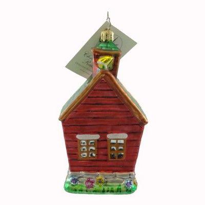 Christopher Radko Operation School Bell Ornament Charity  -  Tree Ornaments
