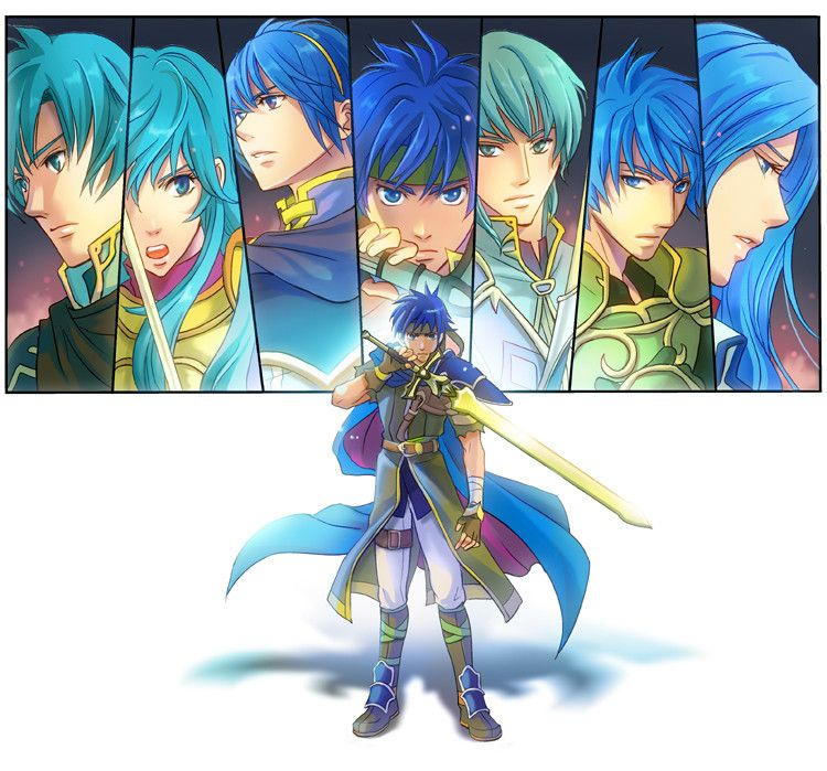 A Few Blue Haired Fire Emblem Characters Fire Emblem Fire