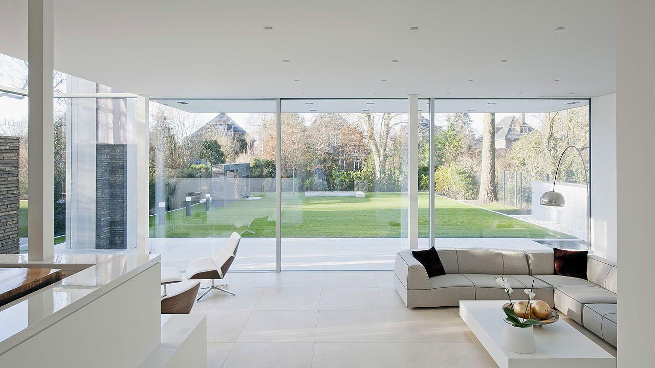 Fliessender Übergang von Innen nach Aussen. #architektur | Fenster ...