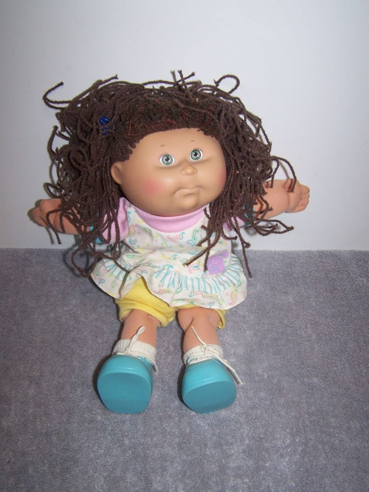 Vintage 1990 First Edition Hasbro Pretty Crimp N Curl By Cabbage Patch Kids Hasbro Munecas Repollo