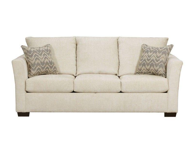 Simmons Upholstery Elan Linen Queen Sleeper Sofa 4206 04q Elan Linen Upholstery Linen Sofa Sleeper Sofa