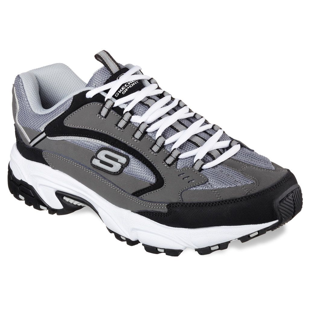 Skechers Stamina Cutback Men's Shoes, Size: 11.5 Wide, Dark