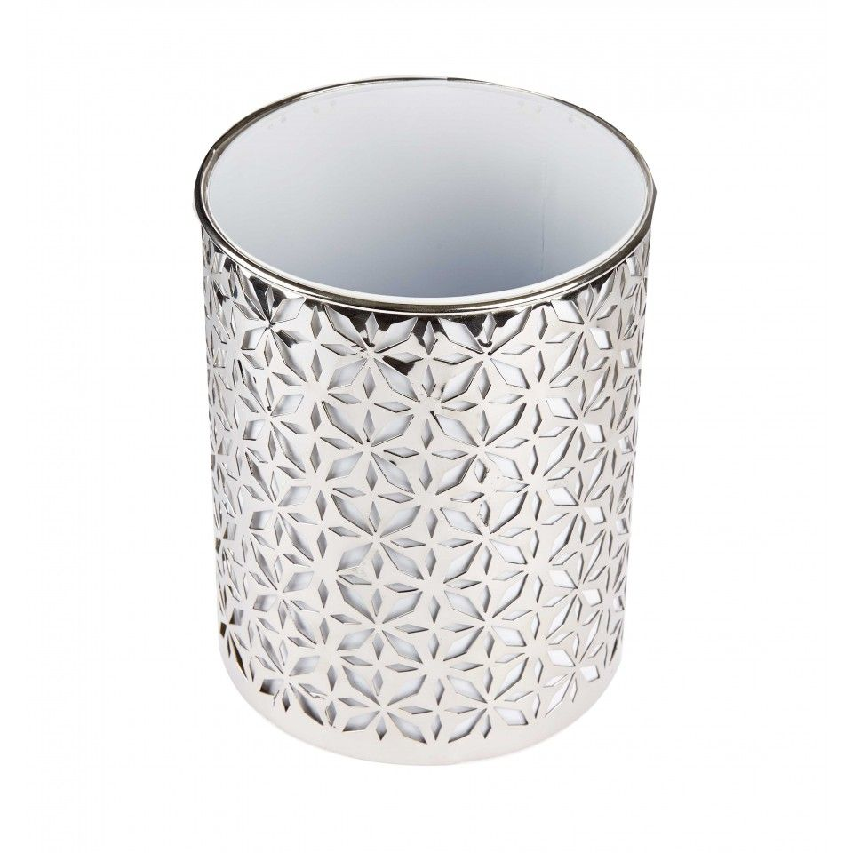 Beautiful Bathroom Bins beaufort waste bin. a beautiful cut out pattern metal waste bin