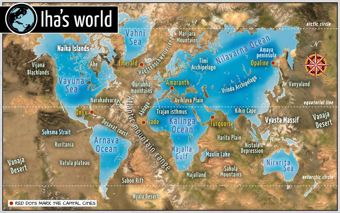 World Map Of Continents map europe