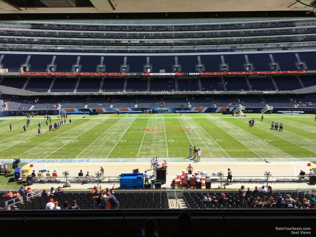 Soldier Field Interactive Seating Chart