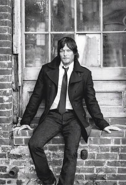 Love this shot of Norman!