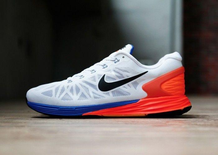 Peep another look at the Nike LunarGlide 6 White/Black-Hyper Crimson on  Nicekicks