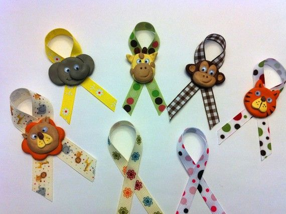 baby shower pins corsages monkey for safari or jungle themed baby