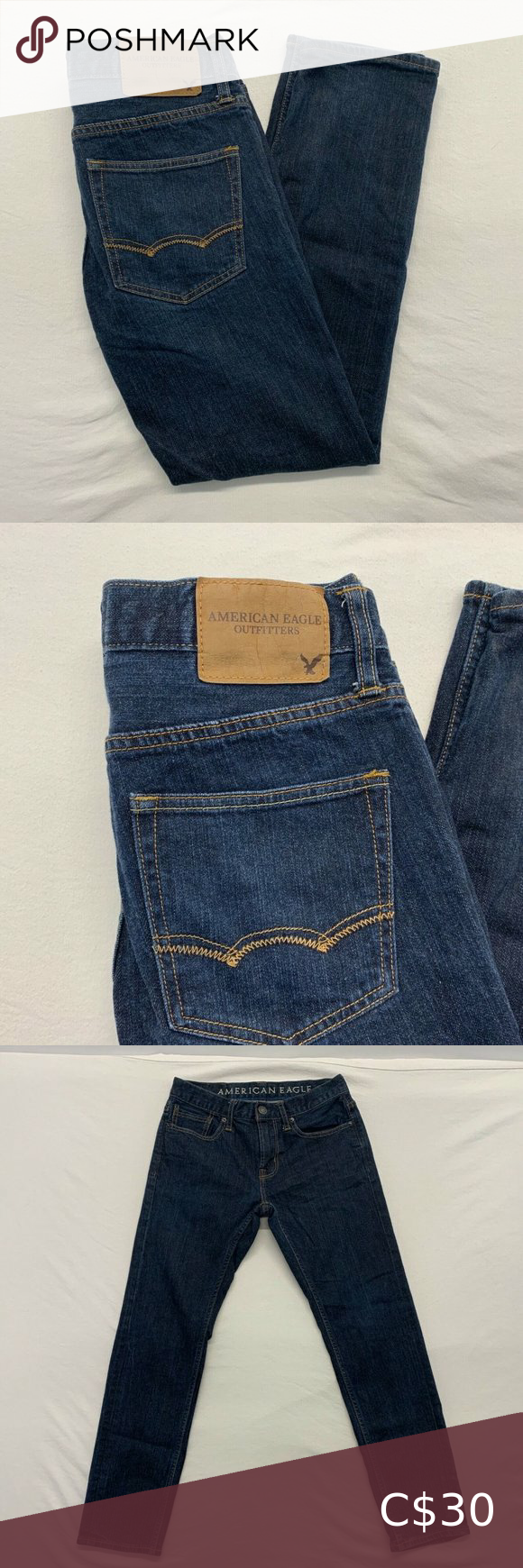 American eagle Skinny womens jeans size 4 R 8527 in 2020