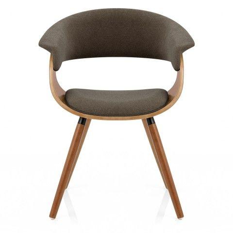 Grafton Dining Chair Walnut U0026 Brown