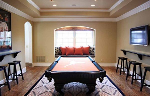 pool table room ideas billiard decor incredible also basement pinterest game rh
