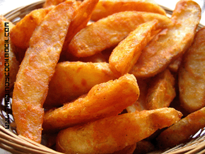 Easy KFC-Style Potato Fries/Wedges Recipe & Tutorial ...