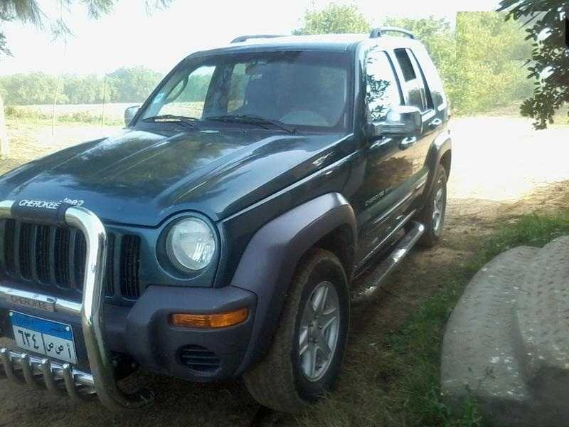 جيب ليبرتى فبريكة بالكامل مو 2003 Jeep Jeep Cherokee Cairo