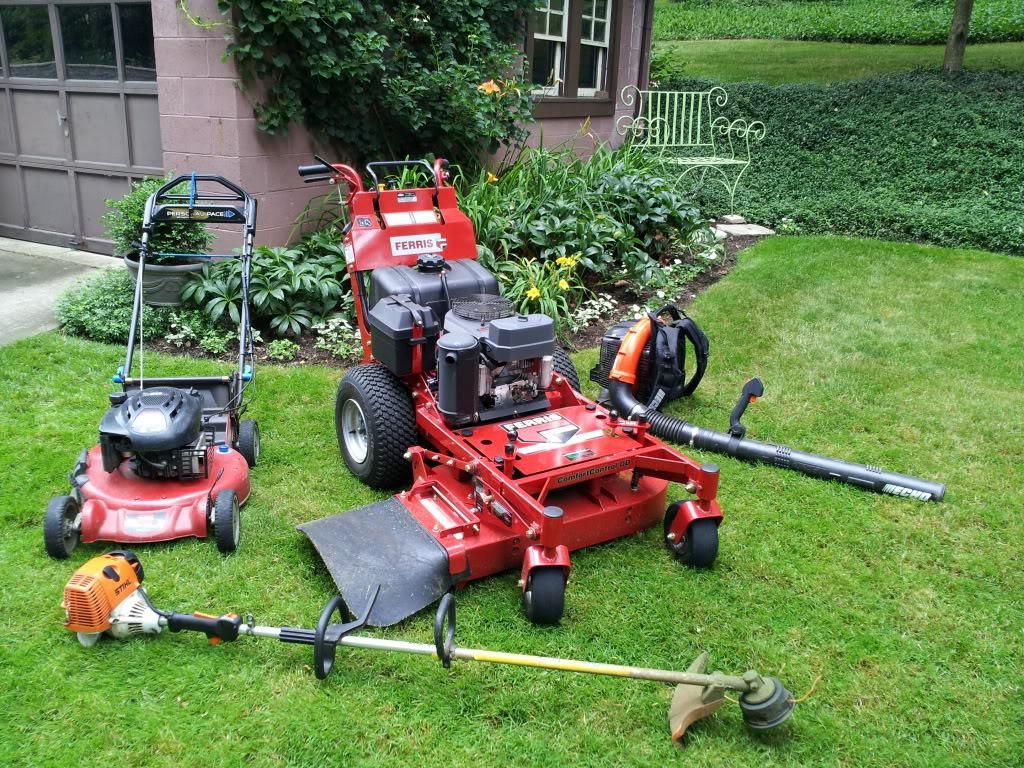Image of stihl lawn equipment landscape power equipment for Best garden maintenance