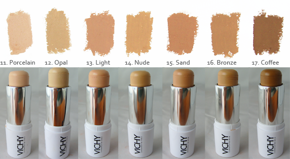 Vichy Dermablend is a line of ultra pigmented, high