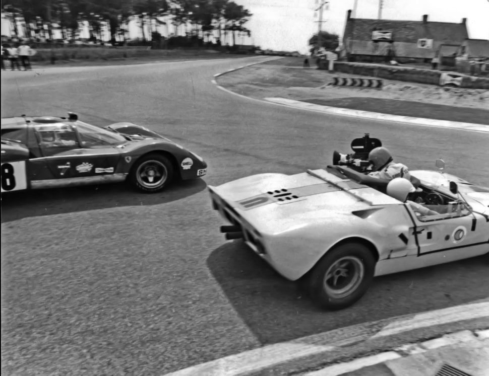 Behind The Scenes At Le Mans Mcqueen Gets R With Images Le
