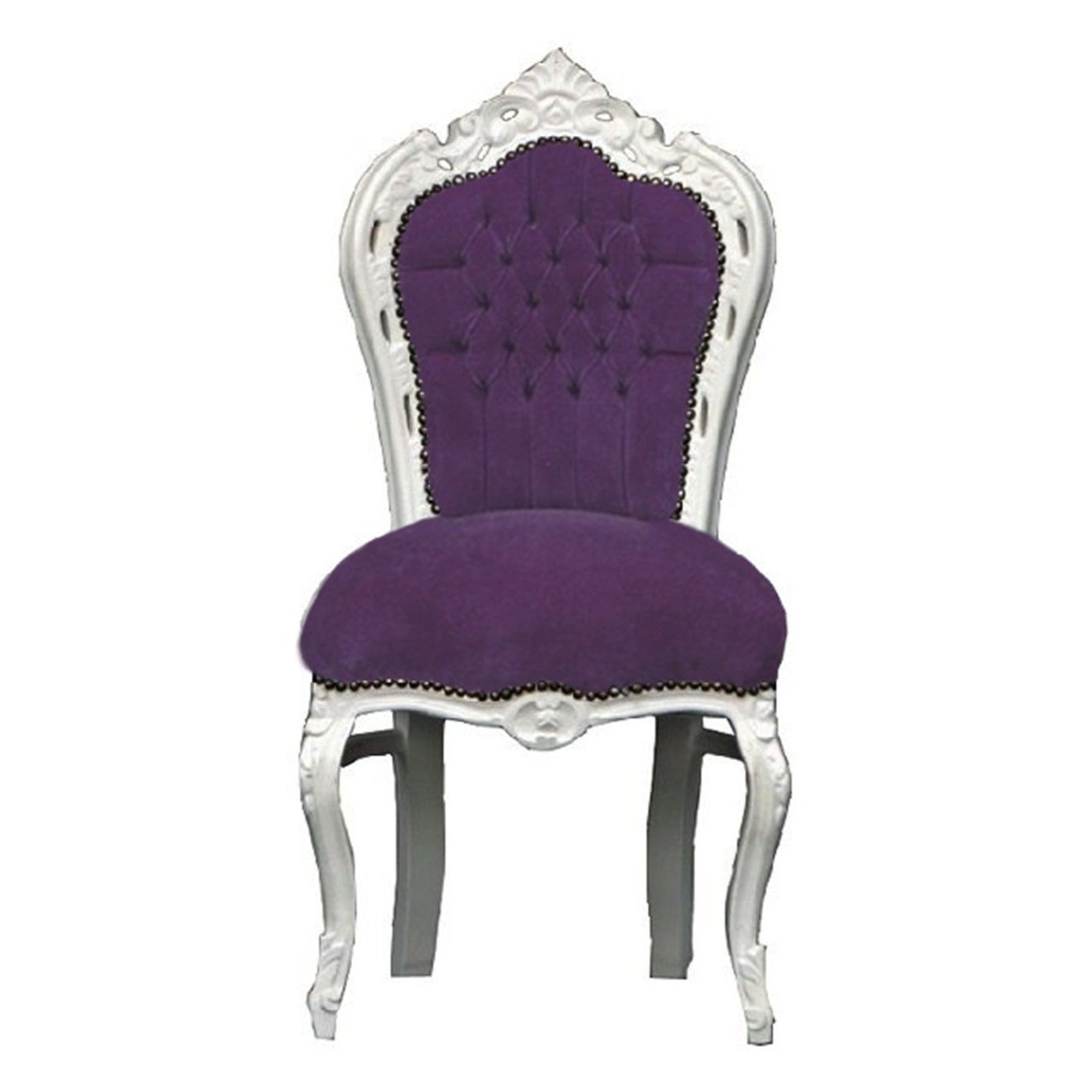 Purple Velvet Desk Chair  sc 1 st  Pinterest & Purple Velvet Desk Chair | http://devintavern.com | Pinterest | Desks