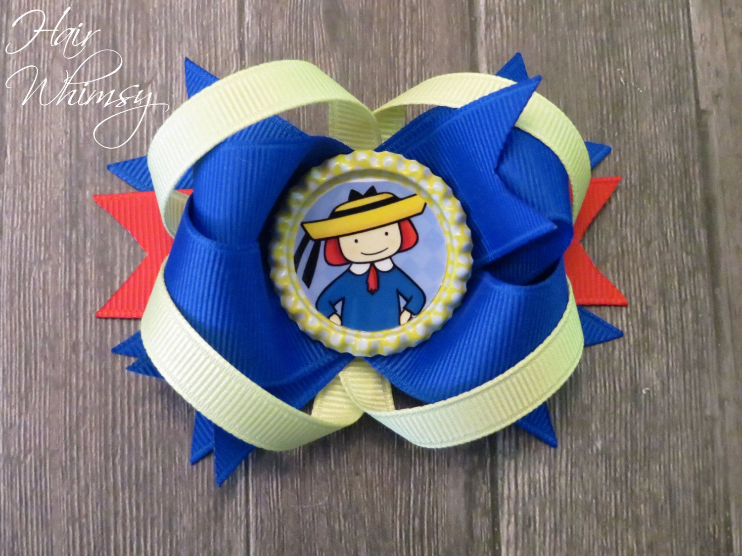 Madeline Inspired Hair Bow by HairWhimsy1 on Etsy, $8.50