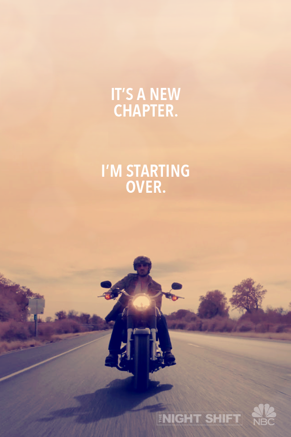 Never look back when you\'re starting a new journey. Catch up ...