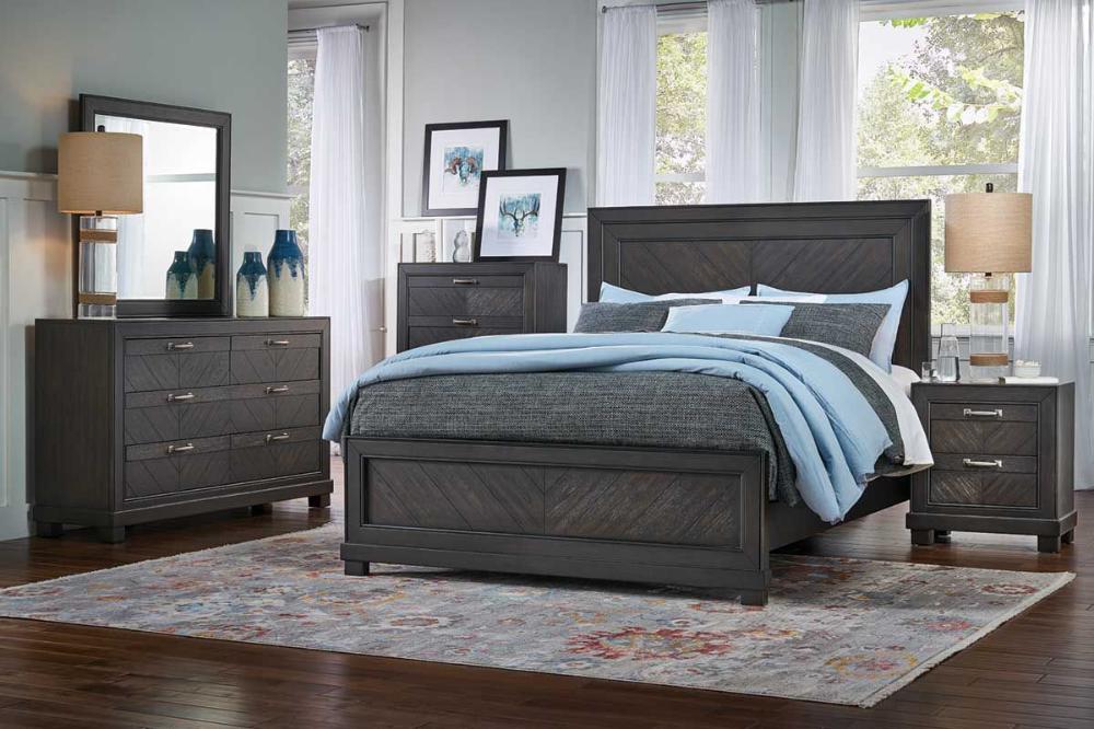 Deacon 5 Piece Queen Bedroom Set Modern Bedroom Design King