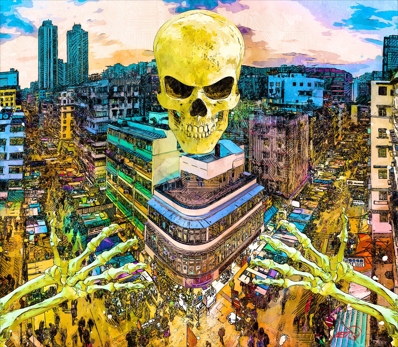 Child, look within and heal yourself💀 . . .  #digitalsketchbook #spooky #spookyart  #bigcitylife #urbanhorror #cyberpunkstyle #neonnoir #cyberwave #skeletons #intothedeep #deepdiving #divingdeep #skeletonsofinstagram #deathcult #darkart #deathworship #dangerstrangerart #tragedy  #moleskine #darktransmissions #darksurrealism #theoutsiders #outsiderart #strangeart #alternativeart #gothiclife #crazyart #skeletonsofinstagram #urbanlegends #hauntedcity