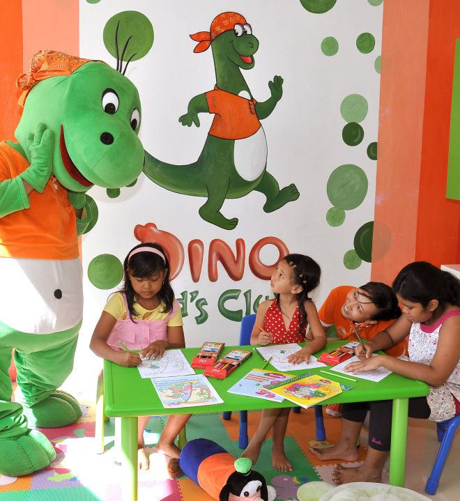 HARRIS Dino Kids Club: At Dino Kid's Club, we will ensure your children will have fun activity. Several activities to cheer …   Dino kids, Fun activities, Kids club