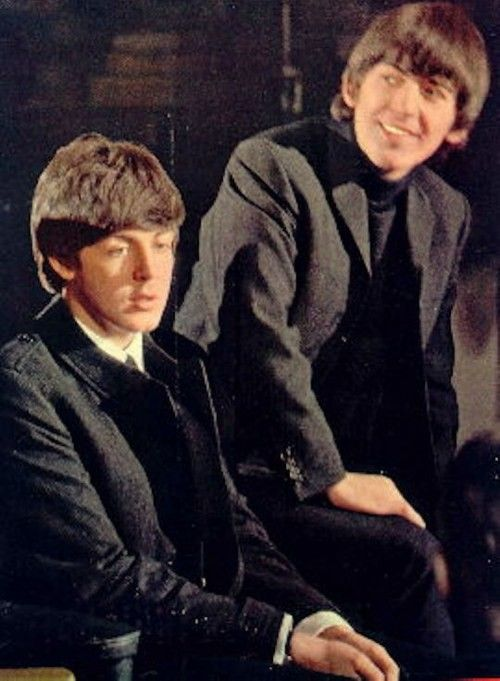 S. J. Paul McCartney♥♥George H. Harrison