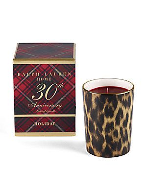 Ralph Lauren Holiday 30th Anniversary Candle $75 ...
