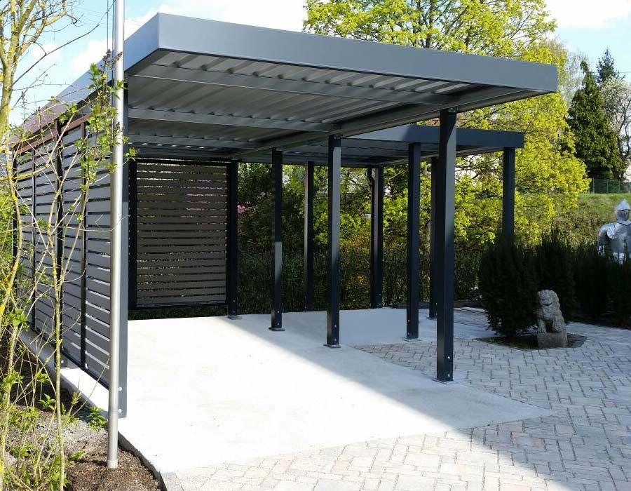 Carport von Siebau in LForm Haus gestalten, Garagenbau