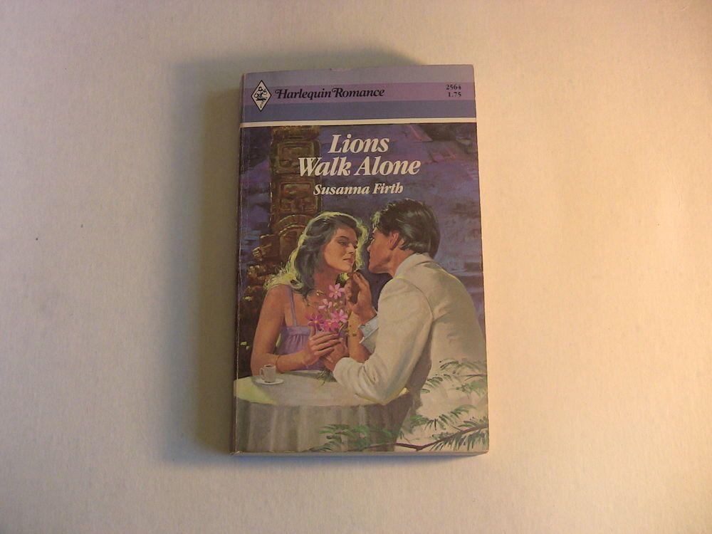 Harlequin Romance Paperback Book 2564 Lions Walk Alone