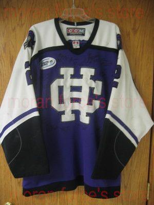 fd8d21d81 Cheap 2006 Sioux Hockey Jerseys #2 Holy Cross Jersey University of North  Dakota Game Worn blue XXS-6XL - Free Shiping