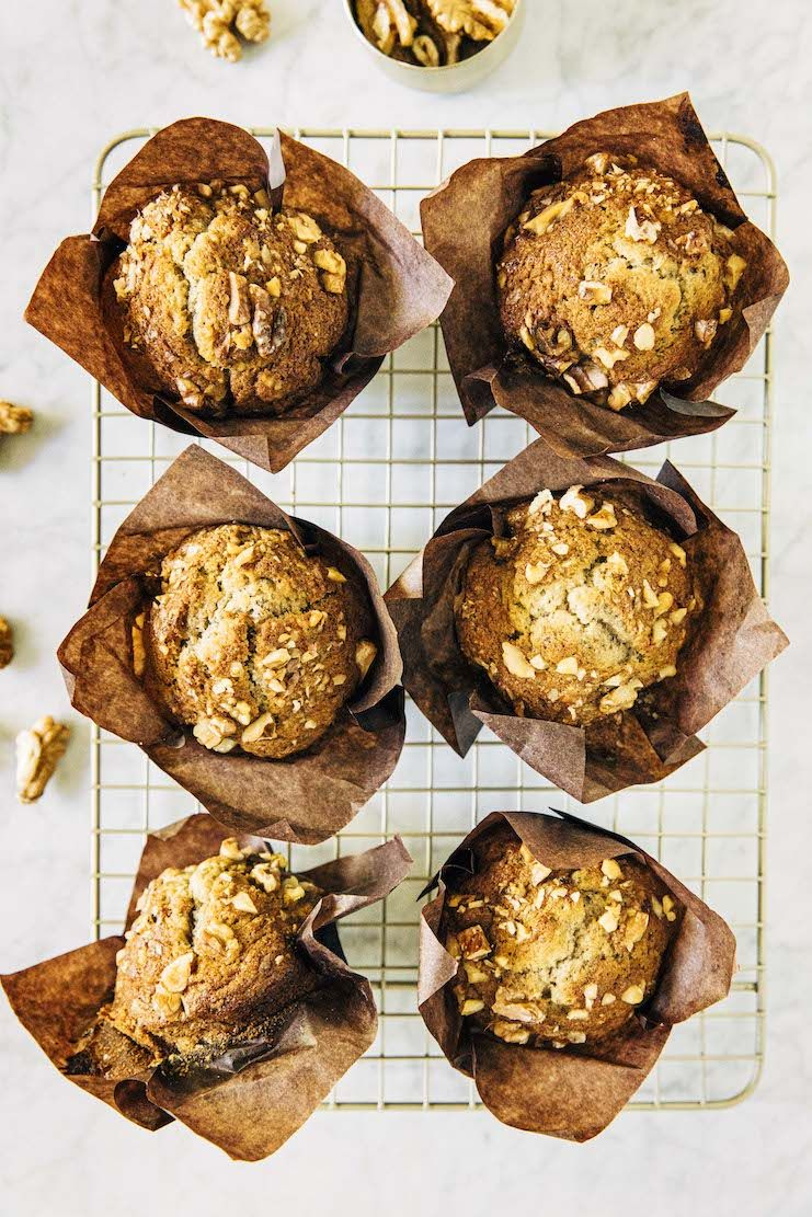 Small Batch Banana Nut Muffins Hummingbird High Recipe In 2020 Banana Nut Muffins Sour Cream Banana Bread Banana Nut Recipes