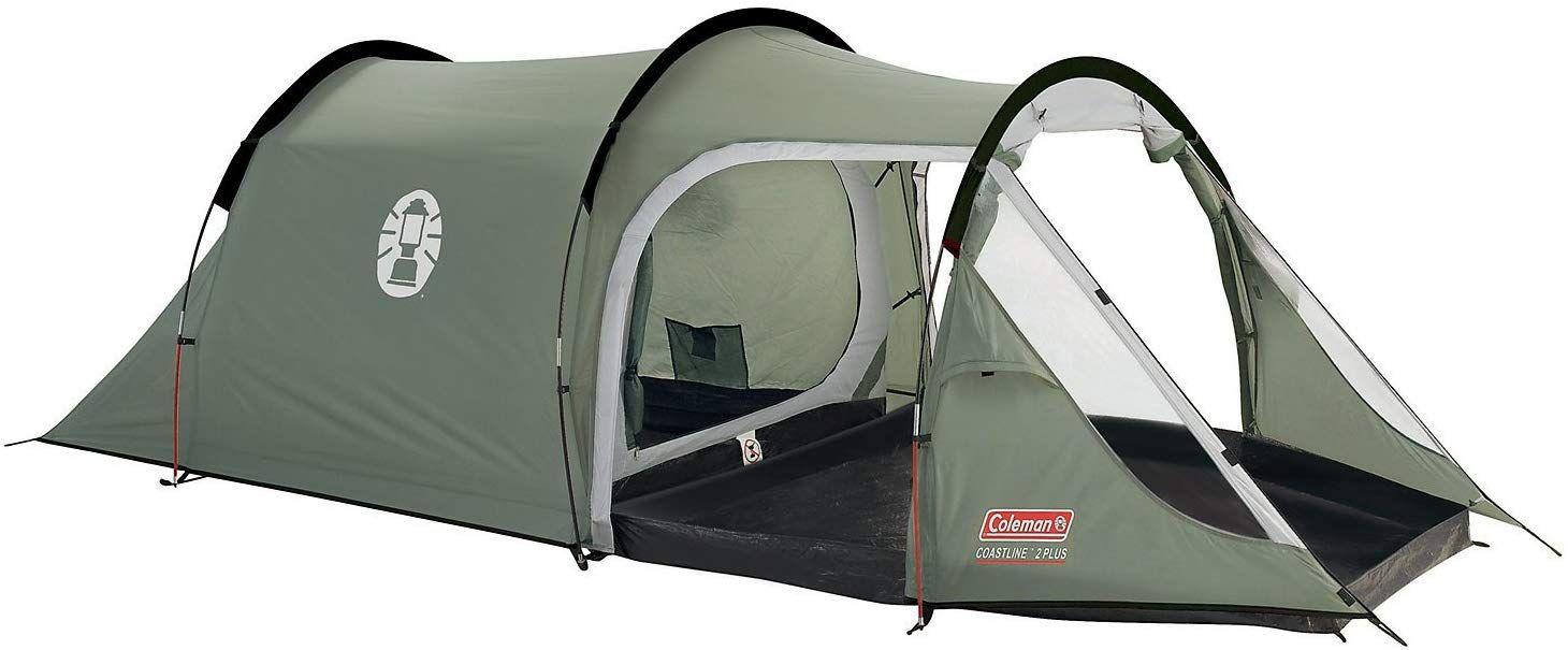 Coleman 2+ Coastline Tent, Green/Grey, 2 Person Amazon.co