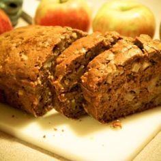 Apple Bread - Yummy cinnamon quick bread with delicious apple pieces.