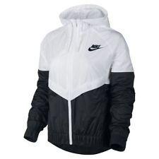 nike spray jacket womens black and white blazer