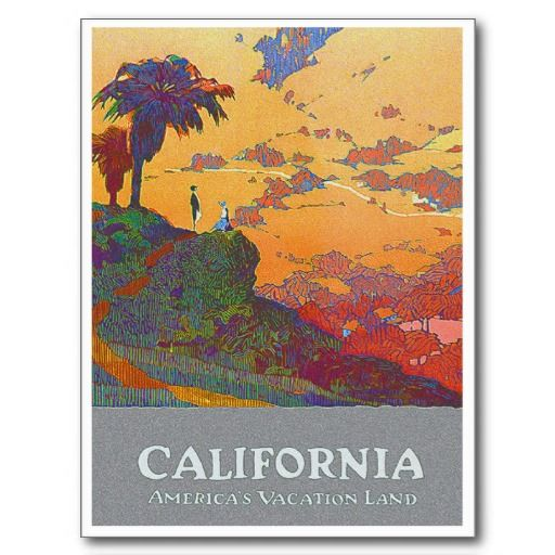 California  Vintage Travel Poster of USA Postcard   Zazzle com is part of California Vintage Travel Poster Of Usa Postcard Zazzle Com - Retro Travel and Advertisement Art of U S A  California  Vintage Travel Poster of USA Retro Travel and Advertisement Art of U S A  Vintage travel advertisement promoting vacation travel to California, United States  Classic Art Deco and Art Nouveau vintage travel and advertisement posters from early 1900s   Exotic destinations of Europe, Asia, Africa, Oceania and Americas