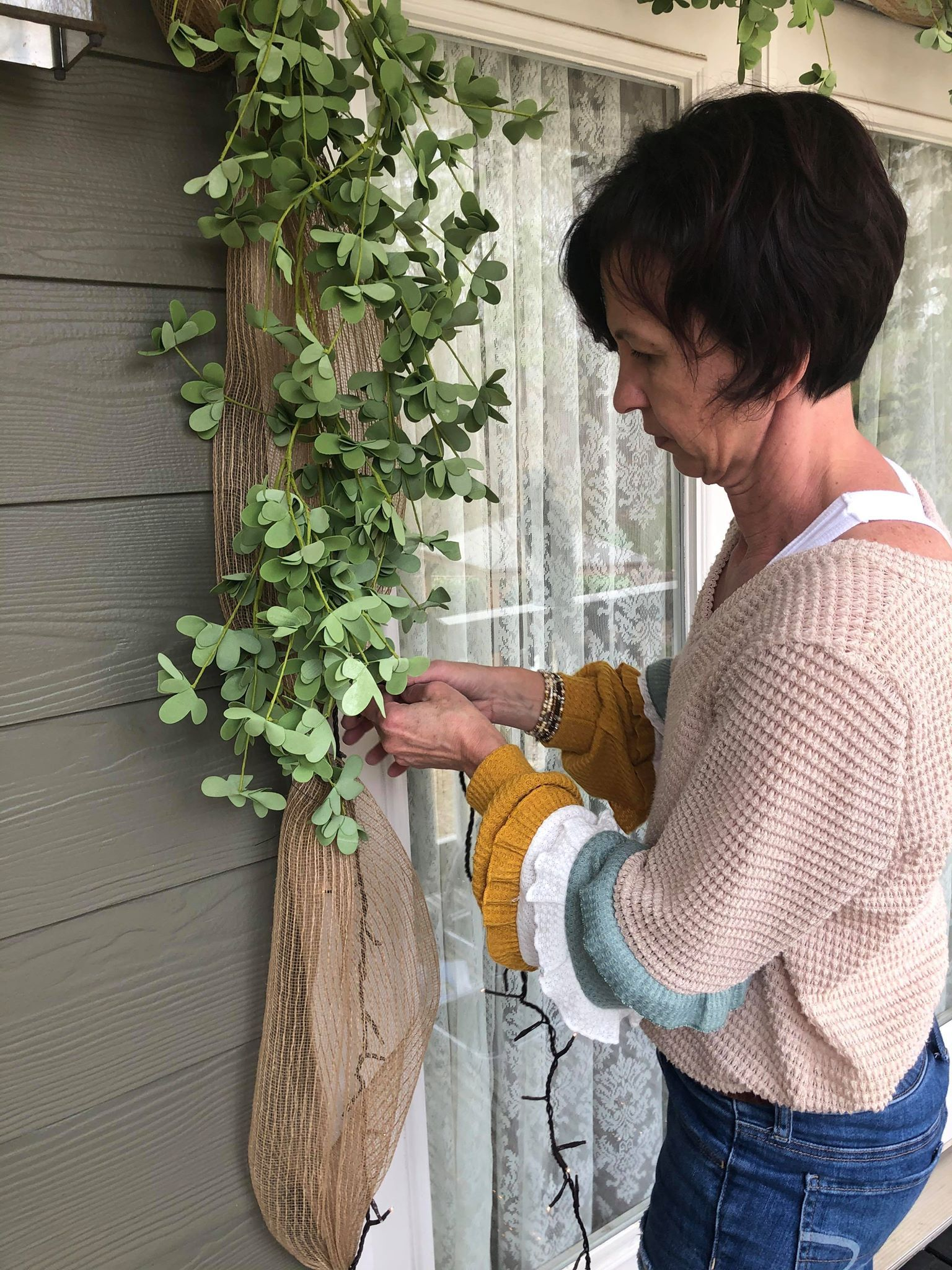 Ways To Decorate Your Front Door - The Shabby Tree