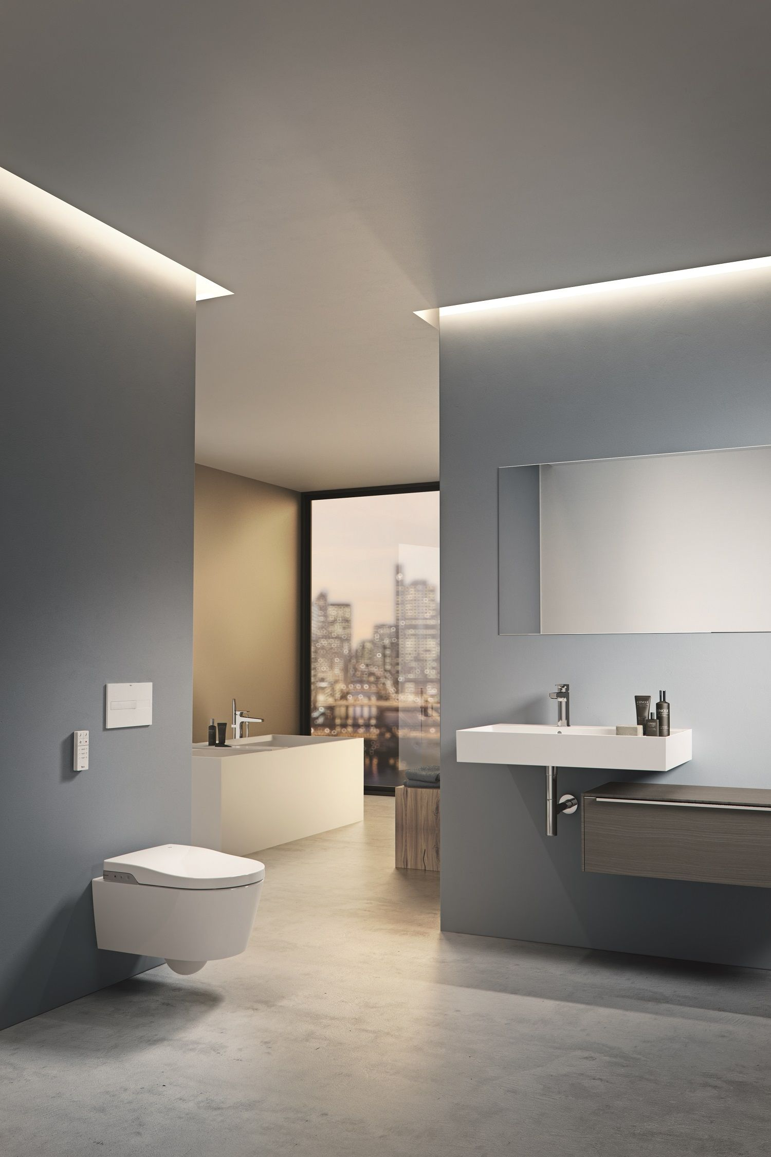 inspira de roca avec wc lavant mural inwash bathroom pinterest more personalization and comfort for the bathroom with the inspira collection by roca including basins made of resistant ceramic material at ish
