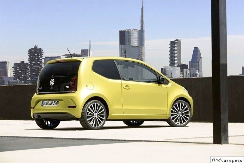 Volkswagen Up Up Facelift 2016 1 0 Tsi 90 Hp Petrol