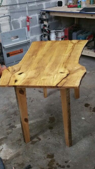 Black Locust Dinning Table With Reclaimed 2x4 Pine Studs As Legs Cool Tables