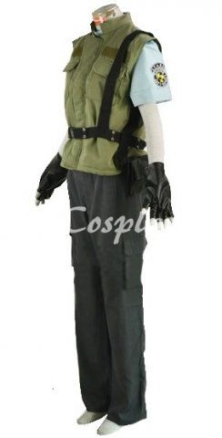 Resident Evil 1 Chris Redfield S T A R S Uniform Cosplay